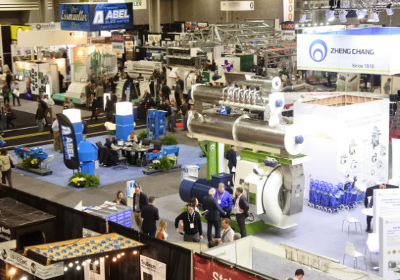A total of 1,218 exhibitors showcased the latest technology on more than 521,000 square feet of exhibit space at IPPE. The Expo is one of the world's largest annual feed, meat and poultry industry event of its kind and is one of the 30 largest trade shows in the U.S. Photo by Susan Reidy.