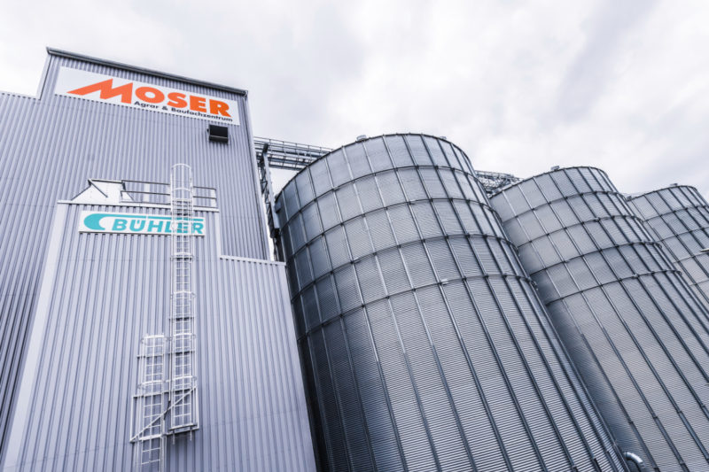 Bühler supplied a new grain collection point in Germany for Moser Agrar & Baufachzentrum that is more efficient than its previous location.