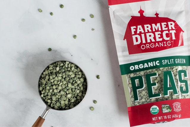 Farmer direct peas