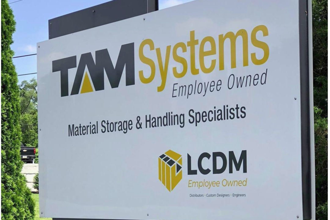 TAM Systems sign