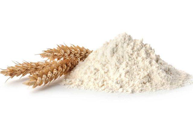Flour with wheat adobe stock e