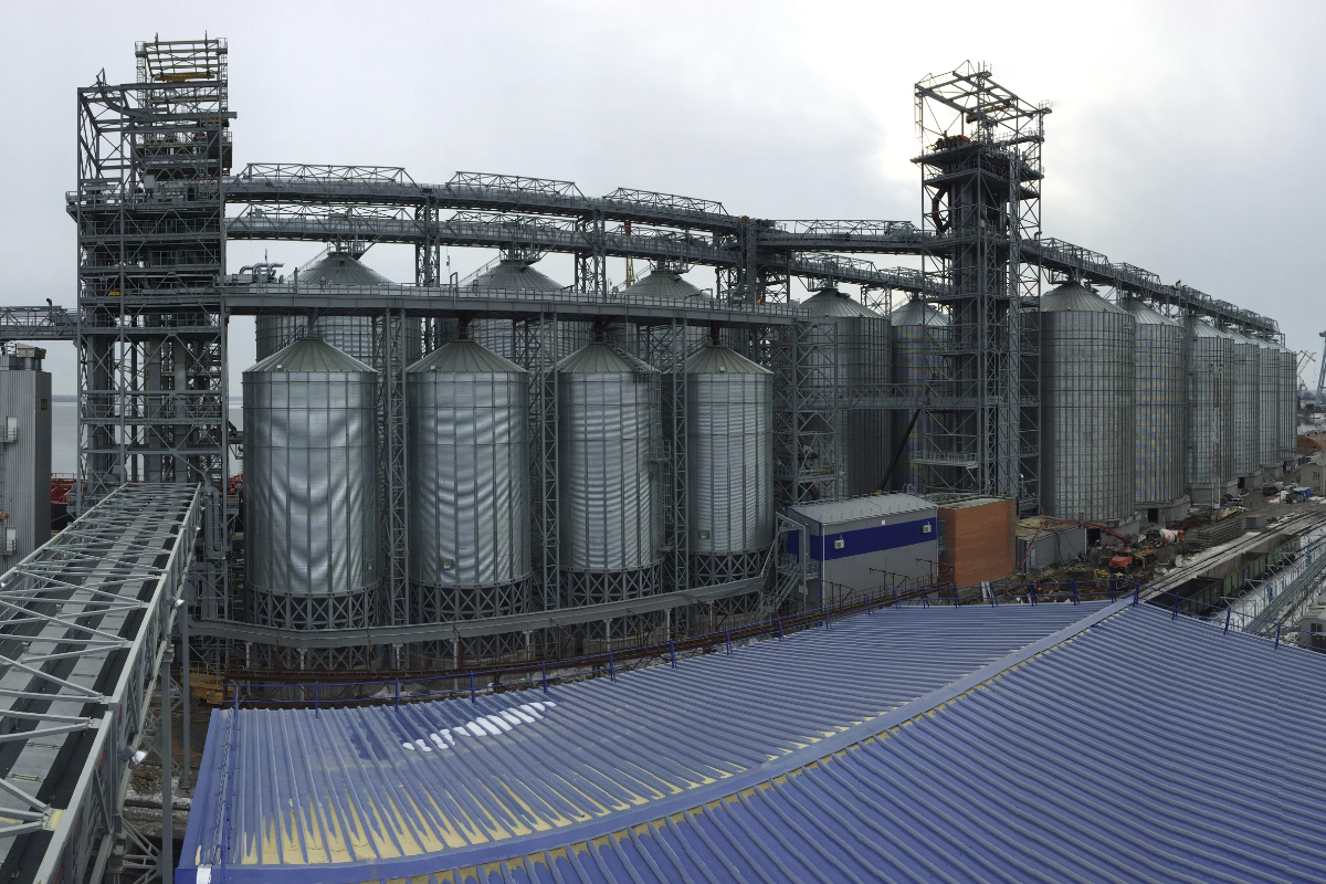AGI grain equipment in Ukraine