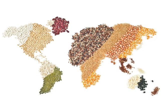 grains map