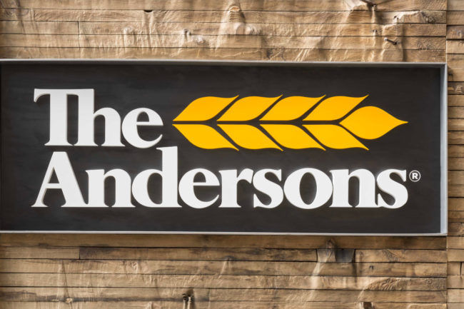 The Andersons sign