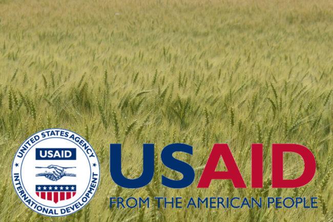 USAID wheat aid