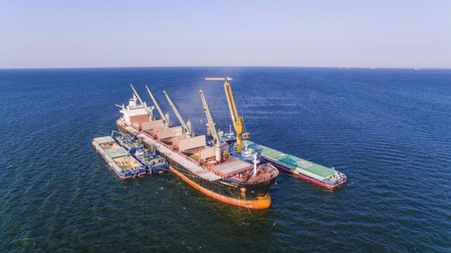 Nibluon grain shipping
