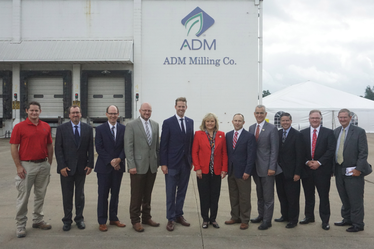 ADM mill opening in Oklahoma
