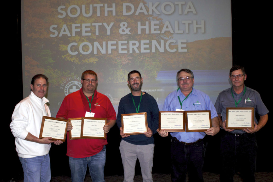 Agtegra receives safety awards