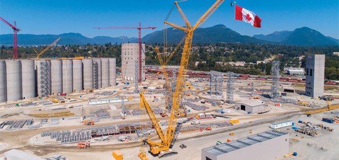 G3 Vancouver Terminal under construction