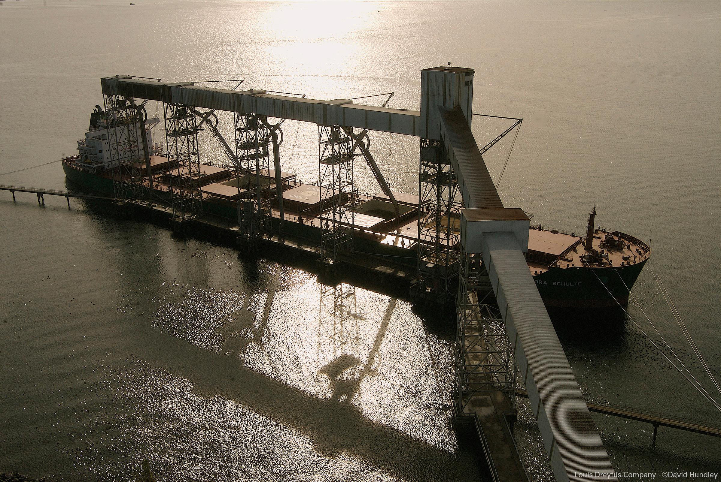 Louis Dreyfus cargo ship in Seattle