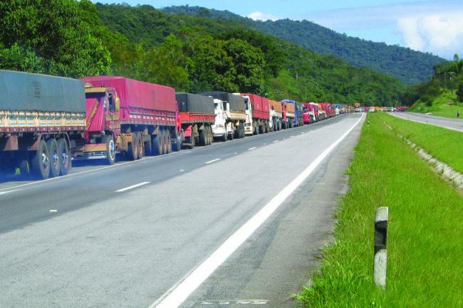 Brazil truck traffic