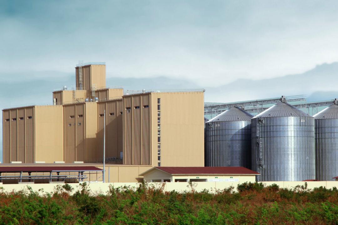 Olam mill in Ghana