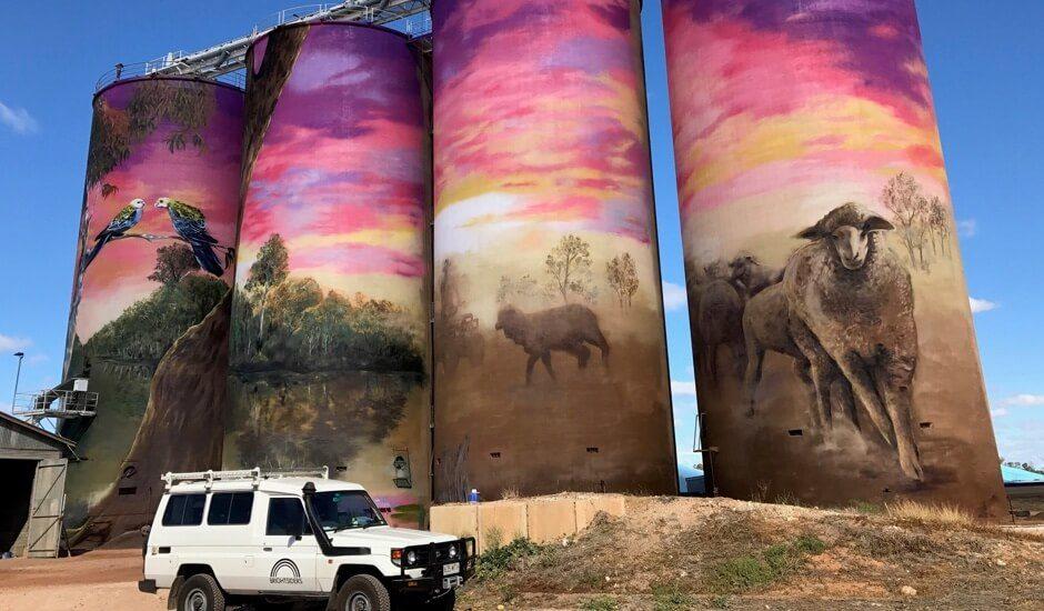 GrainCorp silo art series