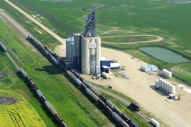 Viterra grain handling facility