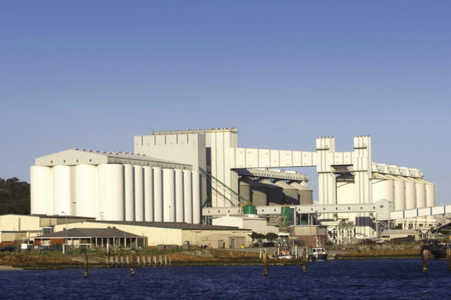 CBH facility in Port of Albany