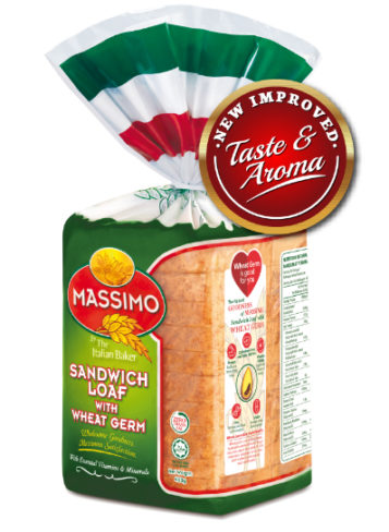 Massimo Sandwich Loaf with Wheat Germ