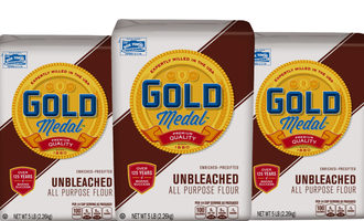 General mills five pound bags of gold medal unbleached flour photo cred general mills e