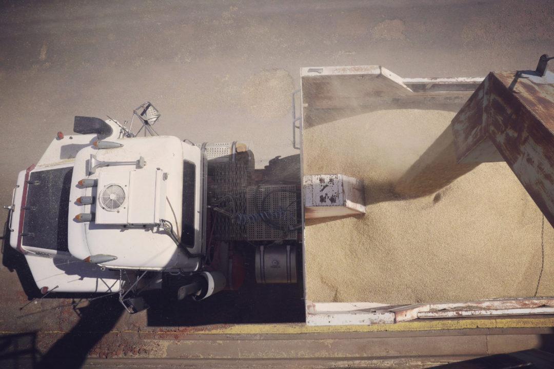 grain trucking transportation