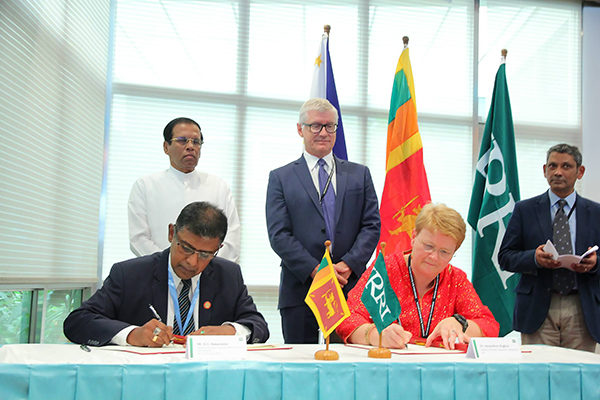 IRRI boosting Sri Lanka rice sector