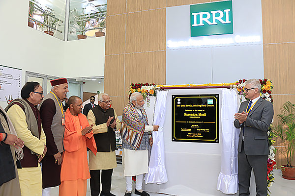IRRI SARC facility opening in India