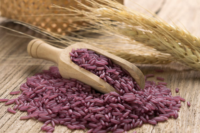 purple rice
