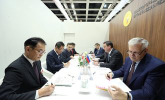 Russian ag ministry officials from the russian and japanese agriculture ministries 2018 photo cred russian ag ministry