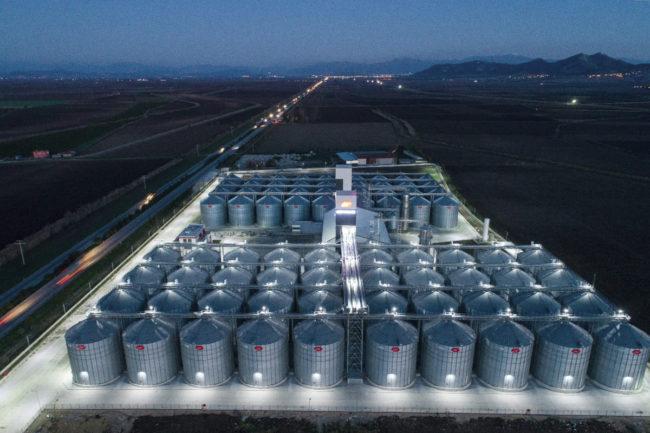 Altinbilek grain storage facility