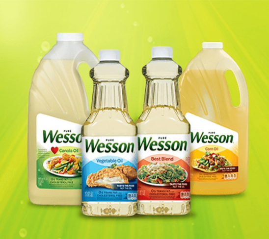 Wesson cooking oils