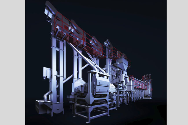 Satake REACH rice mill