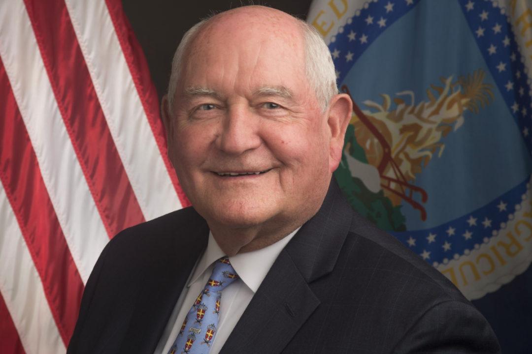 Sonny Perdue US Ag secretary