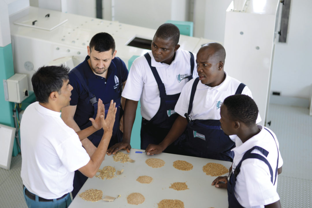 Buhler African Milling school