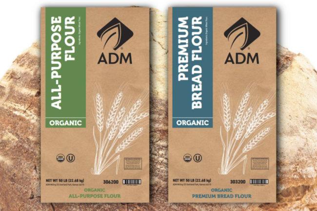 ADM organic flour