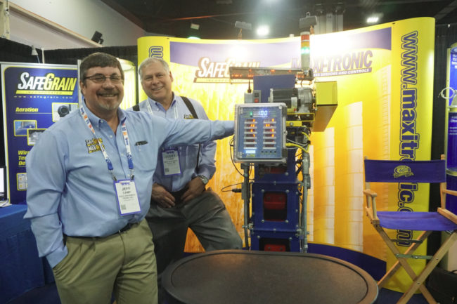 SafeGrain booth at IPPE 2019
