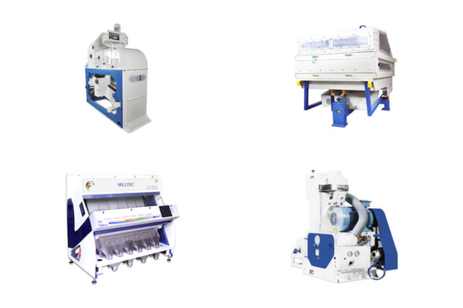 Milltec rice equipment