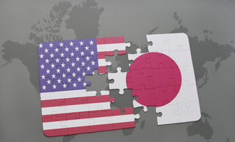 Japan us flag adobestock 114468743 e
