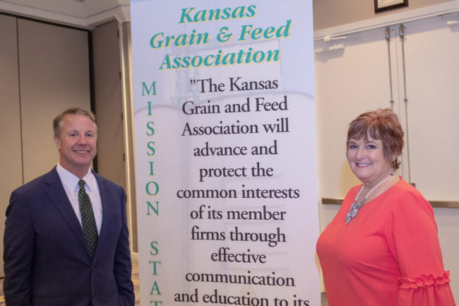 Kansas Grain and Feed chairwoman