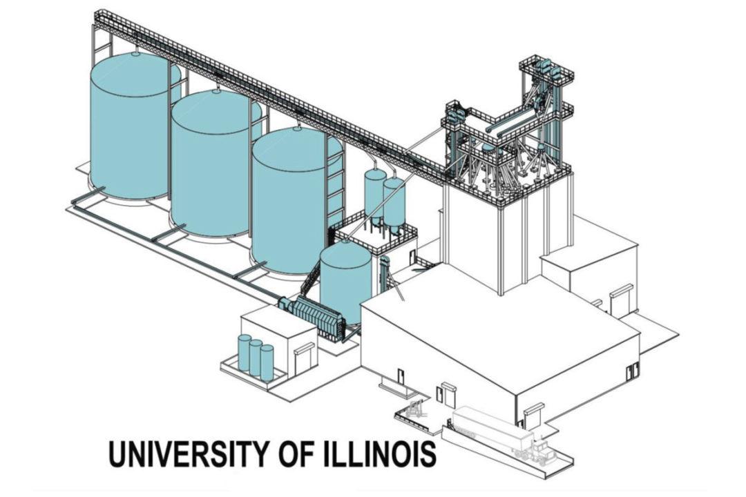 UI Feed Mill rendering