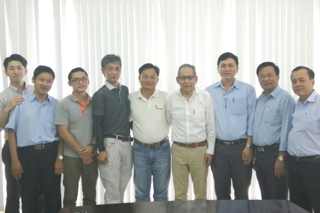 Satake LAMICO R&D meeting