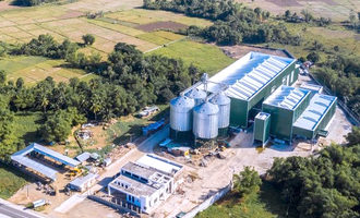 Satake chen yi agventures rice plant in the philippines photo cred satake