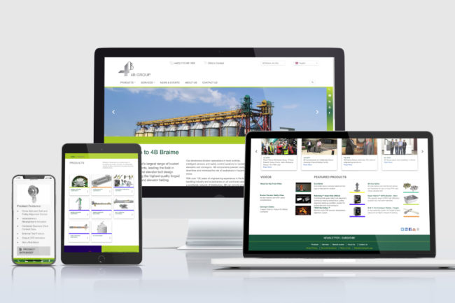 new 4B website