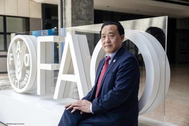 Qu Dongyu FAO general director