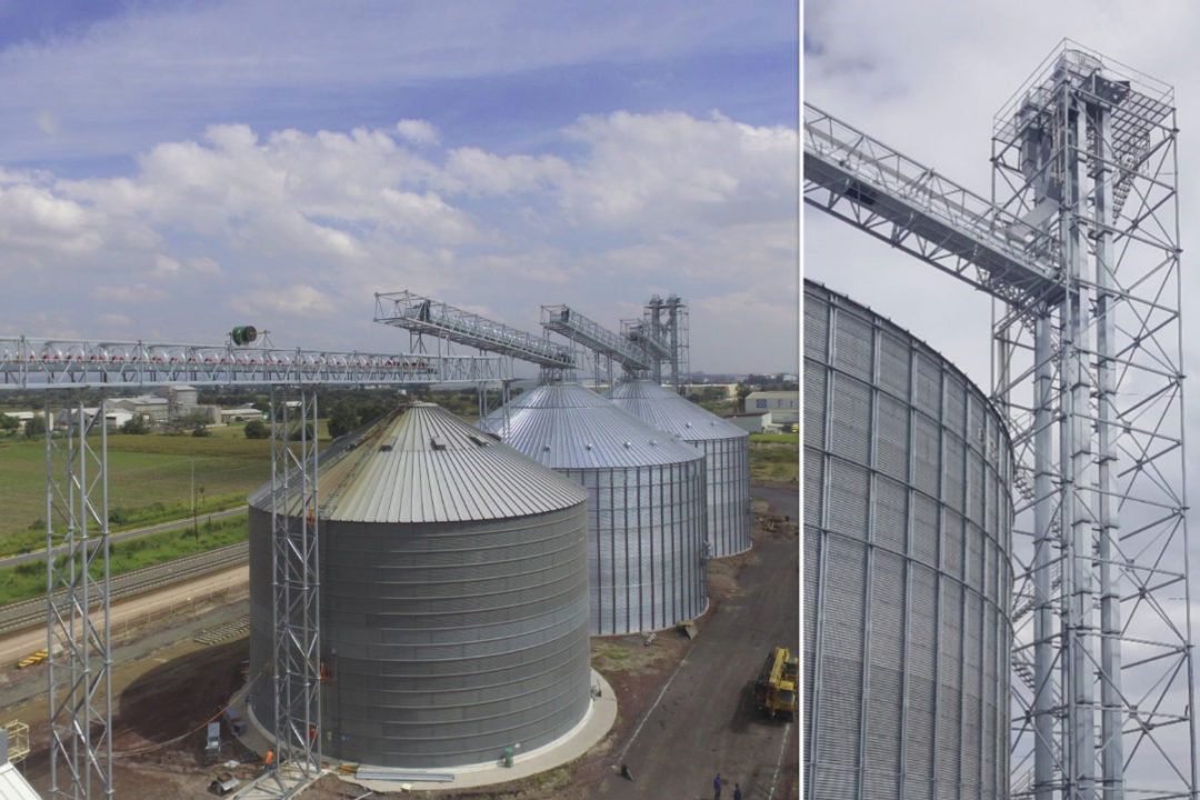 Grain storage and handling in North America