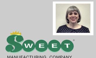 Sweet jamie daugherty weaver marketing specialist with logo photo cred sweet e