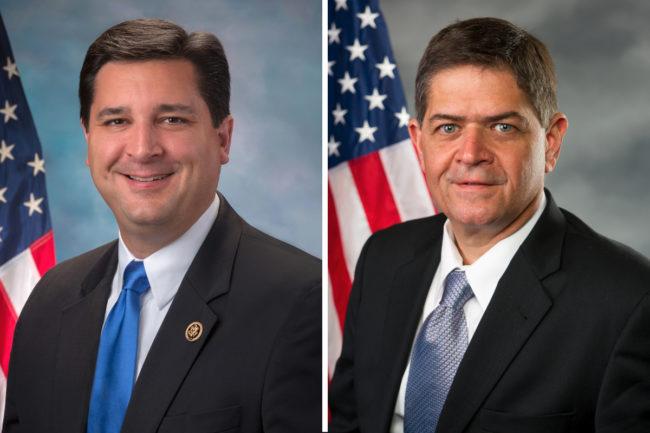 Congressman David Rouzer of North Carolina and Congressman Filemon Vela of Texas