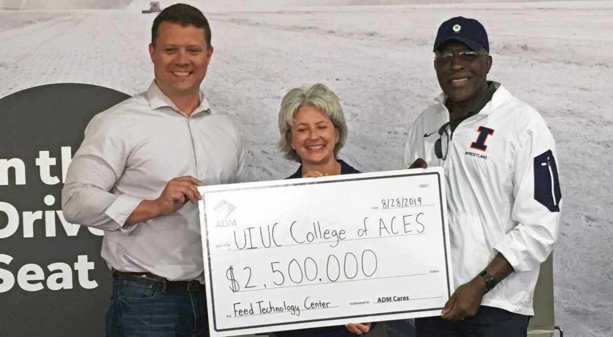 ADM donates to Illinois Feed Tech Center