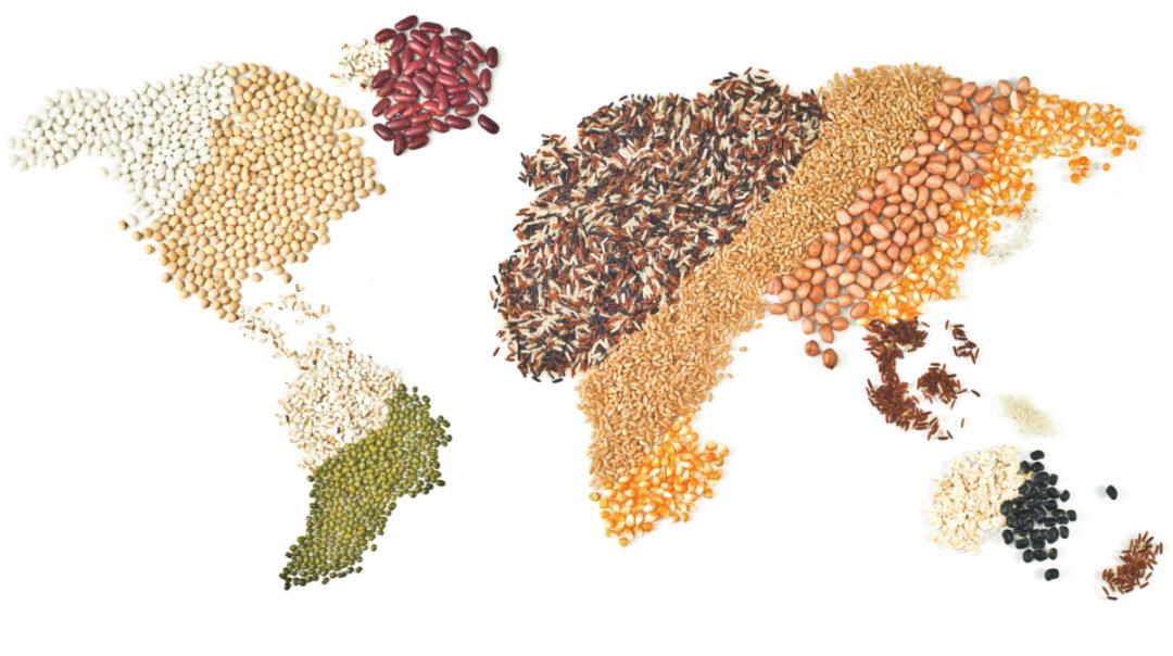 world grains map