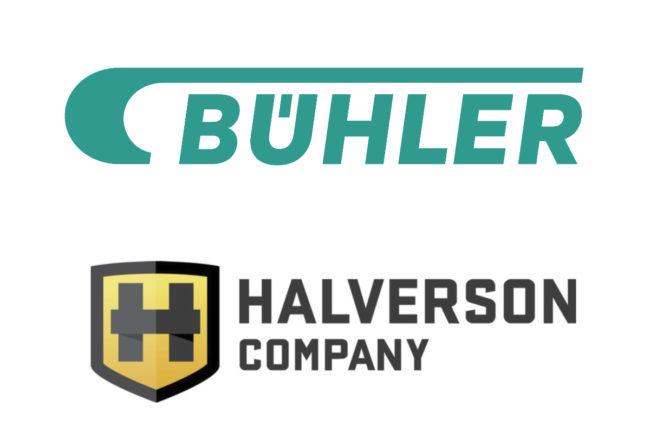Buhler and Halverson logos