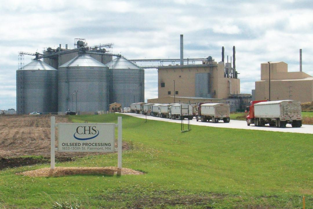 CHS Fairmont Minnesota plant