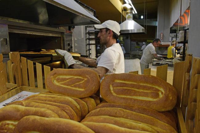 Bakers prepared bread in Armenia