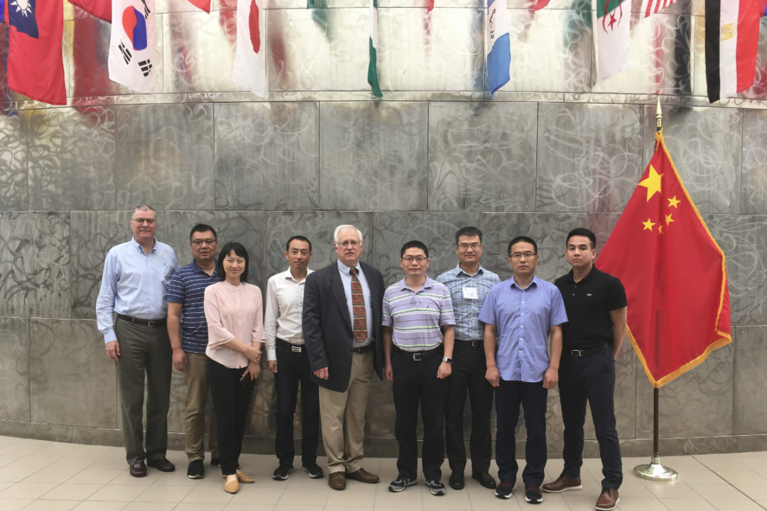 Members of the U.S. Grains Council China trade team